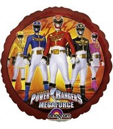 "9"" Airfill Power Rangers Mega Force"