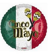 "18"" Cinco De Mayo Maracas Balloon"