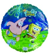 "18"" Sponge Bob Spanish Licensed Foil Balloon"