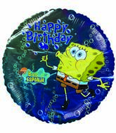 "18"" Happy Birthday Bubbles Sponge Bob"