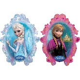 "31"" Anna and Elsa Frozen Mylar Balloon"