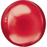 "16"" Red Orbz Balloon"