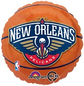 "18"" New Orleans Pelicans Basketball"