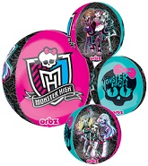 "16"" Monster High Orbz Balloons"