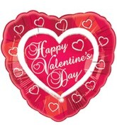 "18"" Happy Valentine&#39s Day Heart Border"