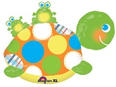 "29"" Turtle & Frogs  UltraShape Balloon"