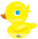 "28"" Yellow Ducky Balloon"