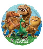 "18"" Disney&#39s Pixar The Good Dinosaur Foil Balloon"