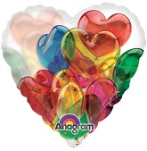 18&#39&#39 Photo Real Rainbow Balloons