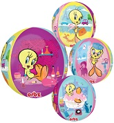 "16"" Tweety Bird Orbz Balloons"