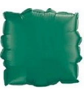 "9"" Airfill Solid Green Square M413"