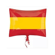 "21"" Spain Flag Balloon"