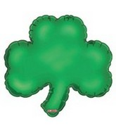"9"" Airfill Good Luck Shamrock Shape"