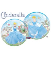 "22"" Cinderella Dream Big Bubble Balloons"