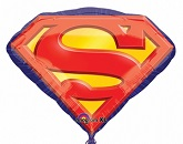 26&#39&#39 Superman Emblem Foil Balloon