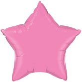 "18"" Classic Pink Star Balloon"