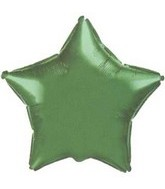 "9"" Airfill Green Star M657"