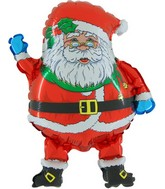 "14"" Santa Claus Christmas Balloon"