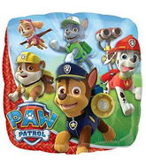 "9"" Paw Patrol Mini Balloon Square"