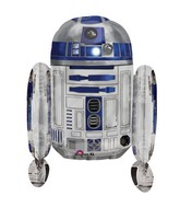 "26"" R2D2 Shaped Star Wars Multi-Balloon"