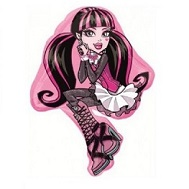 "21"" Monster High Draculaura Jumbo Balloon"