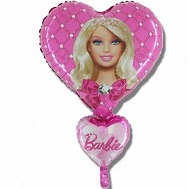 Barbie Hearts Jumbo Balloon