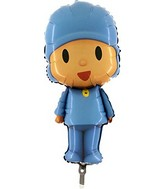 "34"" Jumbo Pocoyo Shaped Foil Balloon"