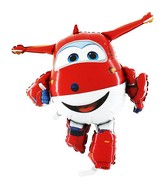 "39"" Super Wings JETT Character Licensed Balloon"