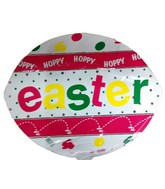 "4"" Airfill Hoppy Hoppy Easter Balloon"