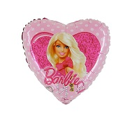 "18"" Barbie Dots Balloon"