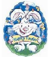 "18"" Happy Easter Bunny Peek Through"
