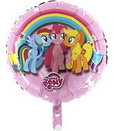 "18"" My Little Pony Rainbow pink Balloon"