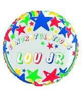 "18"" Congratulations Personalize-it Balloon"