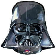 Airfill Only Mini Shape Darth Vader Helmet Balloon
