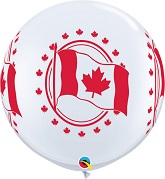 3&#39 Canada Flag White (2 ct.) (2 sided)