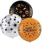 "36"" Halloween Assorted Latex Balloons (2 Count)"