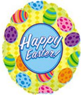 "18"" Happy Easter Eggs Balloon"
