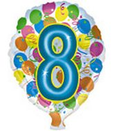 Number Mylar Balloon
