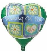"18"" Thinking Of You Daisies Green"