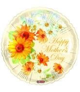 "18"" Happy Mother&#39s Day Sun Flowers"