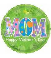 "9"" Happy Mother Day Green M392"