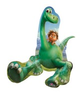 "30"" Jumbo Good Dinosaur Shaped Foil Balloon"