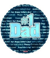 "18"" Happy Father&#39s Day Type"