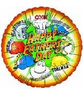 "9"" Airfill Happy Father&#39s Day Hats M372"