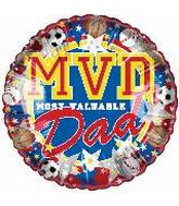 "9"" Most Valuable Dad M395"