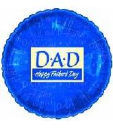 "9"" Happy Father&#39s Day Blue M394"