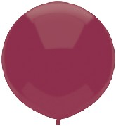 "17"" Outdoor Display Balloons (72 Count) Deep Burgundy"