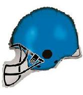 "26"" Blue Football Balloon Helmet"