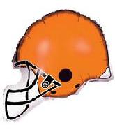 "26"" Orange Football Helmet"