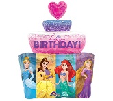 "28"" Balloon Multi-Princess Cake"